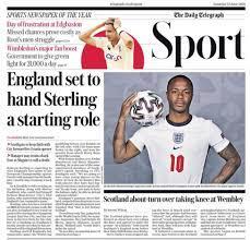 افتتاح اليورو وفرصة سترلينج يتصدران صحف إنجلترا