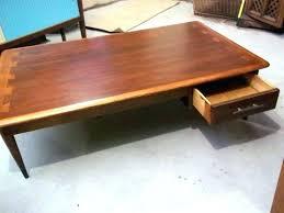 lane acclaim end table lane mid century modern acclaim dovetail coffee table refinish lane acclaim coffee