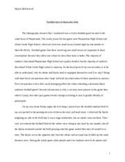 ethnography study resources 4 pages ethnography essay