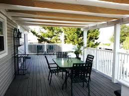 deck awnings with screens screen permanent ideas three image of canopies