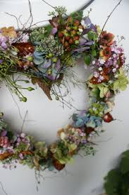 Lovely for a Spring Wreath. this would be beautiful using dried flowers  from the garden.