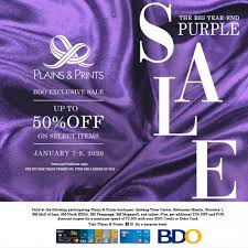 Enter your valid pnb credit card number, card expiry date, and date of birth. Bdo Exclusive Purple Sale 2020 Blog