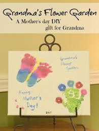 grandma s flower garden a diy gift for mother s day