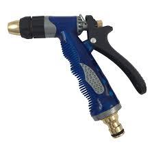 garden pride spray nozzle for garden hoses black blue