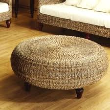 round rattan coffee table wicker coffee table ottoman the new way home decor wicker coffee rattan round rattan coffee table