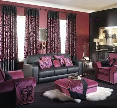 purple brown living room brown purple living room home houses decoration living rooms