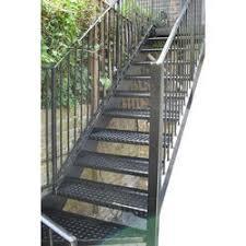 Outdoor Steel Staircase, Metal Staircase - Gabriel Fabricators, Chennai |  ID: 14142626633