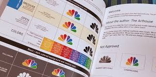 Nbc Design Redrawing The Nbc Peacock Logo For Increased Functionality