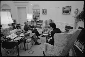 jimmy carter oval office. Vice President Walter Mondale, National Security Advisor Zbigniew Brzezinski, Secretary Of State Cyrus Vance And Jimmy Carter During An Oval Office V