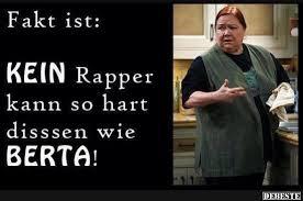 Fakt Ist Kein Rapper Kann So Hart Dissen Wie Berta Lustige