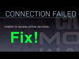 modern warfare how to fix connection