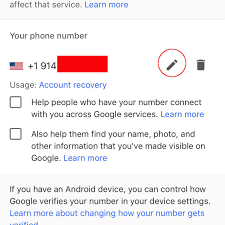 How To Change Your Phone Number How To Change Your Phone Number In Gmail
