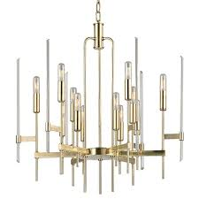 hudson valley 9912 agb 12 light brass chandeliers