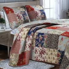 French Country Bedroom Quilts Country Patchwork Quilts Bedding ... & French Country Quilts Bedding Country Bedspread Quilts Country Cottage  French Country Cottage Patchwork Floral Quilt Country Adamdwight.com