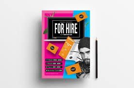 Free Freelancer Freelancer For Hire Poster Template Psd Ai Vector Brandpacks