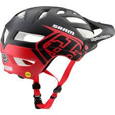 Troy Lee Designs A1 Troy Lee Designs A1 Classic Sram Mips Helmet Black Red