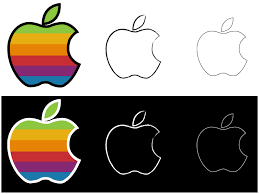 apple logo vector. apple logo vector by ooredroxoo