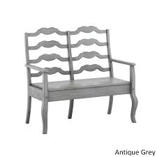 Eleanor French Ladder Back Wood Storage Bench by iNSPIRE Q Classic - Free  Shipping Today - Overstock.com - 20163741