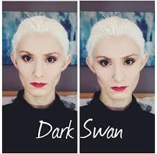 once upon a time dark swan makeup tutorial