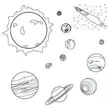 Small Picture Space Coloring Pages Coloring Pages