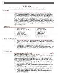 Sample Caseanager Supervisor Resume Examples Nurse Objective Hospice