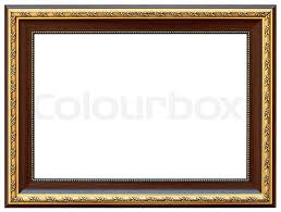 antique wood picture frames. Stock Image Of \u0027Wood Vintage Frame Isolated On White. Wood Simple Design. Antique Picture Frames