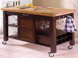 Marvelous Kitchens, Rolling Kitchen Island Stainless Steel Top: Rolling Kitchen Island Amazing Pictures