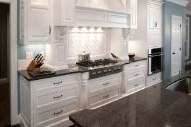 White Kitchen Granite White Kitchen Cabinets With Grey Quartz Countertops Monsterlune