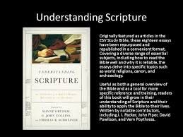 homosexuality the bible and the christian in the crossfire of  understanding scripture originally featured as articles in the esv study bible these eighteen essays have