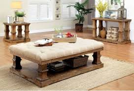 granard coffee table with cushion top