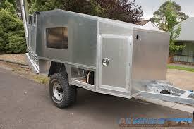 aluminium camper trailer