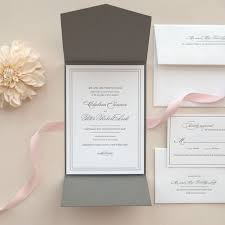 best 25 wedding invitation samples ideas on pinterest fun Letterpress Wedding Invitations Free Samples black and white letterpress pocket fold wedding invitation sample grace (free Free Wedding Invitation Downloads