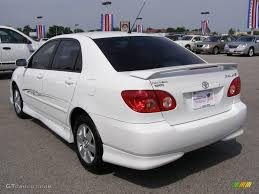 toyota corolla 2005 white. Fine Toyota 2005 Corolla S  Super White  Black Photo 5 In Toyota O