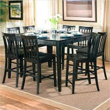 black kitchen table set coaster pines counter height dining table with leaf in black black friday deals on kitchen table sets