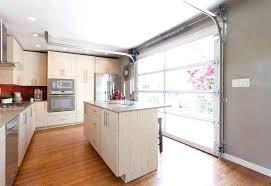 glass garage door in kitchen. Wonderful Glass Kitchen Garage Door Glass In Outdoor Doors With Glass Garage Door In Kitchen