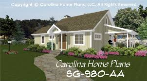 chp sg 980 aa br small contemporary cottage house plan