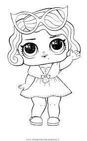 Disegno Lol Surprise8 Personaggio Cartone Animato Da Colorare