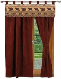 rustic cabin lodge curtains and dry regarding size 1153 x 1500
