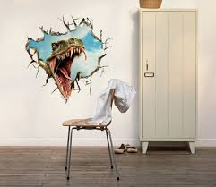 free shipping dinosaur 3d printer wall art decals vinyl stickers home decor removable wall stickers home on 3d printer wall art with free shipping dinosaur 3d printer wall art decals vinyl stickers