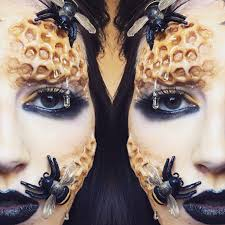 bee the queen bee with this make up look