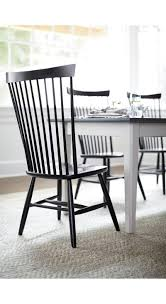 Black Wood Dining Chairs Marlow Ii Black Wood Dining Chair Crate And Barrel Marlow