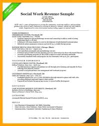 Child Welfare Worker Sample Resume Simple Social Worker Sample Resume Marcorandazzome
