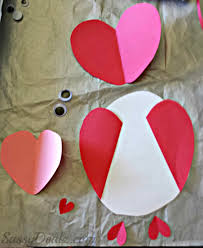 I Love You Crafts Owl Valentines Day Card Idea For Kids Crafty Morning