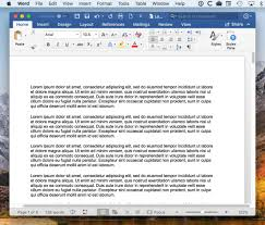 Mircosoft Word For Mac Write And Edit Like A Pro With Split View In Microsoft Word For Mac