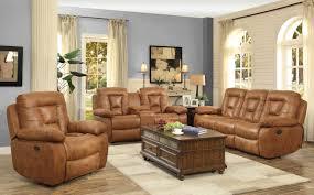 Motion Living Room Furniture Coaster 601864 601865 601866 Evensky 3 Pcs Saddle Coated
