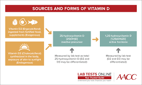 Optimal Vitamin D Level Chart Vitamin D Tests Lab Tests Online