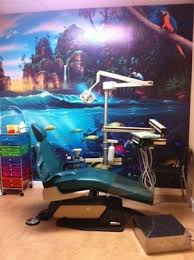 dental office decorating ideas. wonderful ideas island and under the sea mural adds a great touch to this pediatric dental  office to dental office decorating ideas