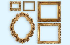 antique picture frame styles values