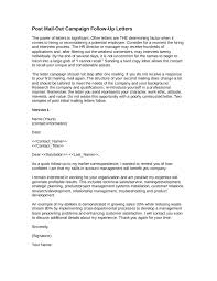 Ideas Collection Follow Up Cover Letter Wonderful Follow Up Letter