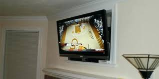 tv mount above fireplace mantel over installation nook or cut out mount tv over fireplace